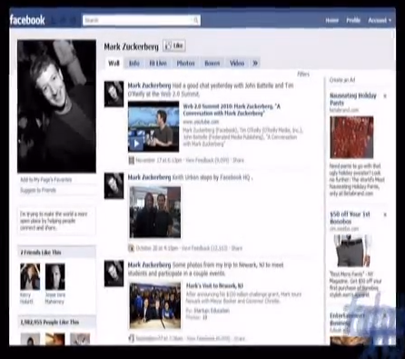 evolution of facebook in 2009