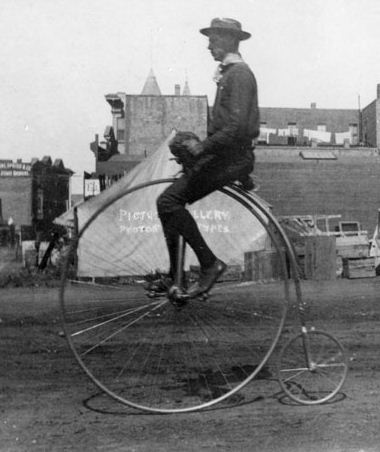 penny-farthing - evolution of bicycle