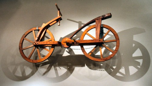 Da Vinci bicycle - evolution of bicycle