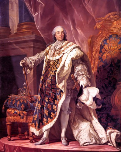 Portrait of Louis XV of France (1710-1774) - Evolution of Stapler