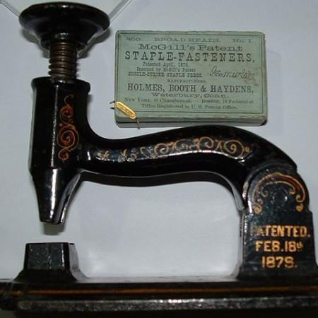 McGill Stapler - Evolution of stapler