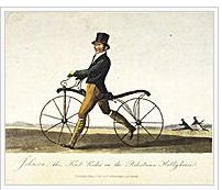 velocipede or hobby horse -evolution of bicycle