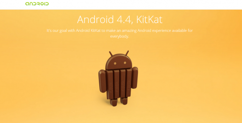 Android Kit Kat and facts about android