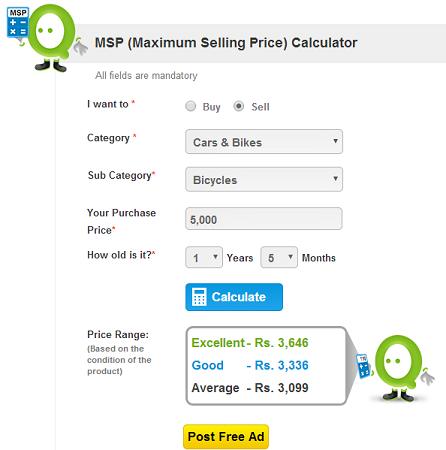 maximum selling price