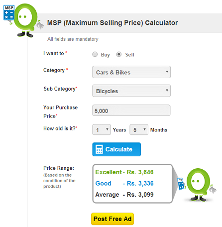 maximum selling price