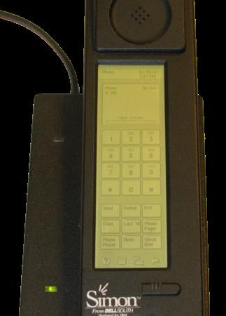first touchscreen phone
