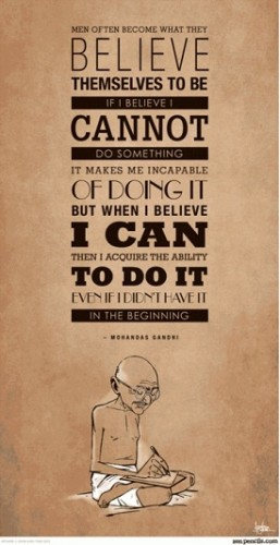 Gandhi Quotes about belief