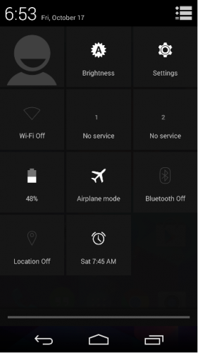 What is Airplane mode in Android