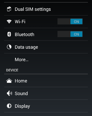 airplane mode in android