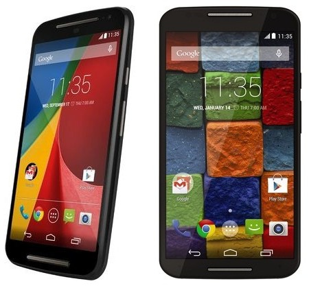 set ringtone in moto g (2nd generation) and moto x (2nd generation)