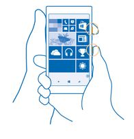 How to take screenshot in Nokia Lumia 520