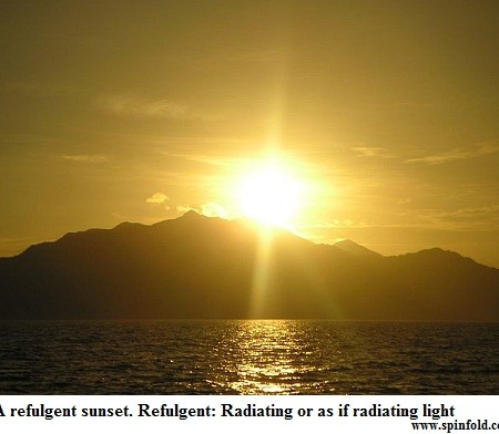 refulgent meaning