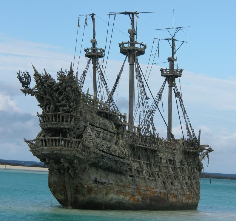 Abandoned ship meaning - Spinfold